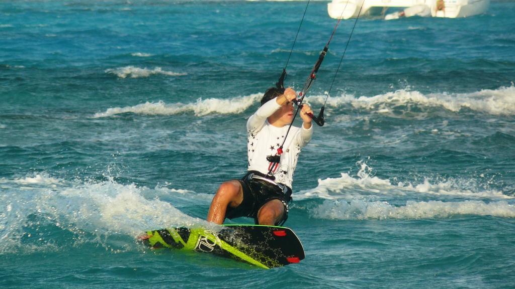 Kite en Martinique