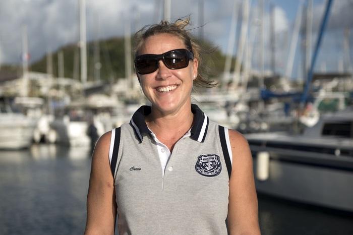 Jessica hôtesse cuisinière marin